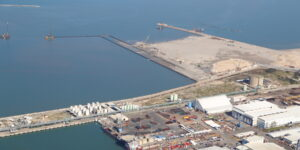Контейнерный терминал в Хайфы фото